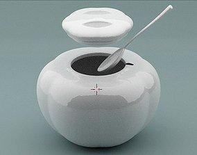Sugar Bowl 3D print model kitchen