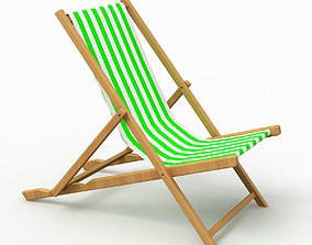 Beach Chair 4 3D model