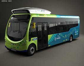 Arriva Milton Keynes Electric Bus 2014 3D