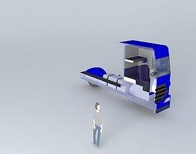 Truck euro 3D model