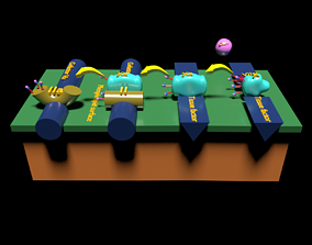 3D model COAGULATION CASCADE COMMON PATHWAY