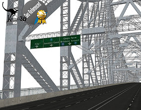 Story Bridge 3D asset