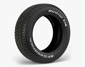 BFGoodrich Radial TA Tire 3D model