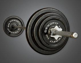 3D asset Weight Set 01a - Sports And Gym