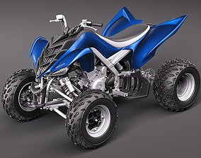 3D model Yamaha Raptor QUAD