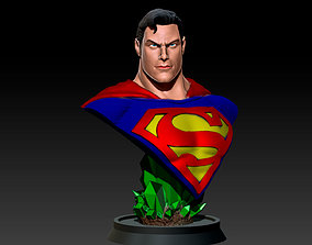 3D printable model Superman Bust - Alex Ross
