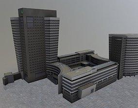 Amsterdam ABN Amro 3D asset
