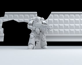 3D print model Russian - Fence PO-2-fence slab-2-Damaged