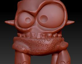 Monster pot 1 stl for 3D printing earthenware