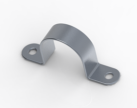 Classic Saddle Clamp 3D printable model