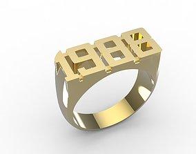ring 1988 3D printable model