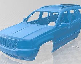 Jeep Grand Cherokee 1998 Printable Body Car