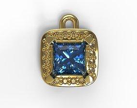 Jewelry pendant 3D printable model 3d