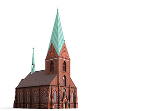 3D St Nikolai Church Kiel