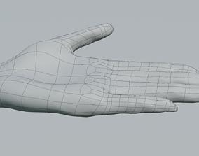 hands 3D Female hand