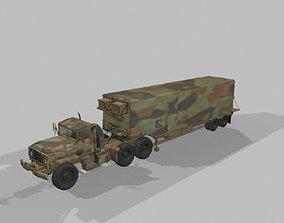 Big Foot Trailer - OBJ HP 3D model