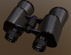 eyewear Binocular 3D asset game-ready