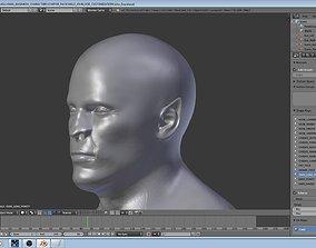 Male John Doe 3D