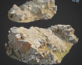 3d scanned rock cliff K2