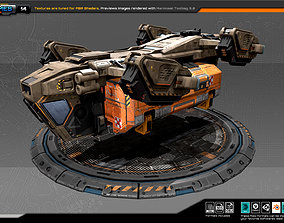 RTS Freighter - 14 3D asset
