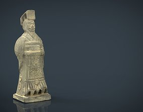 Terracotta Warriors Emperor Qin Shi Huang 3D model