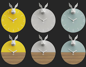 Wall Clocks LES 3D model