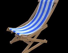 travel beach chair 3D model