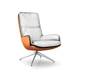 Banjo armchair by Jardan 3D model