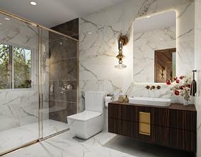 Bathroom Design Blender File 3D model