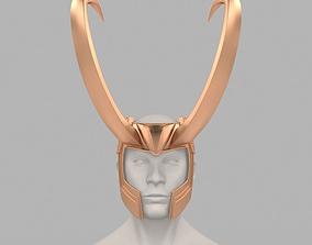 Loki Helmet Thor 3 Ragnarok 3D print model