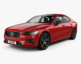 3D model Volvo S60 T6 R-Design 2019