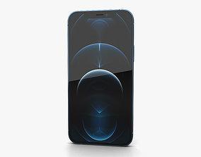 3D model Apple iPhone 12 Pro Pacific Blue