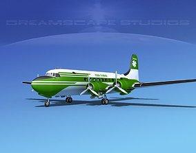 Douglas DC-4 Ohara Charters 3D
