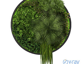 3D model green Vertical Garden