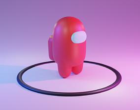 Among Us character 3D model us