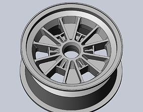 289 FIA Daytona Coupe Model Car Wheels