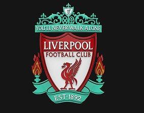 Liverpool FC Logo Footbal Club 3D
