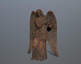 Angel Statue 03 3D model