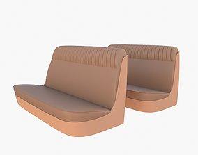 Generic 40s Car Seats 3D
