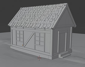 Small Medieval House 3D asset