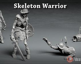 Skeleton Knight - DnD Monster - 2 Poses 3D print model