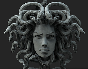 3D printable model MEDUSA jewelry