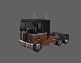 tanker Truck 3D asset game-ready