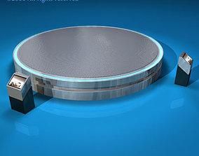 3D Expo platform turntables