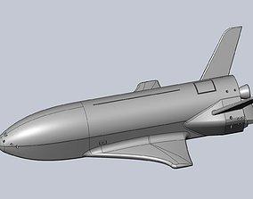 3D print model Boeing X-37B OTV Experimental Spaceplane