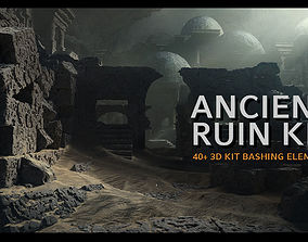 Ancient Ruin Kit - 40 plus Elements 3D