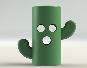 Cactus Pen holder 3D print model