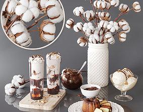 Decorative set 9 peanuts 3D