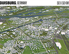 3D model Duisburg Germany