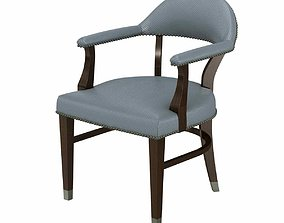 traditional Charter furniture dining arm chair 3d model